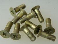 "10 x 1/4"" UNF Screw Steel Countersunk Length 3/4"" Part AS65010-4-5 [C8]"